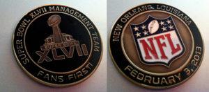 2013 Super Bowl Fan First award lo