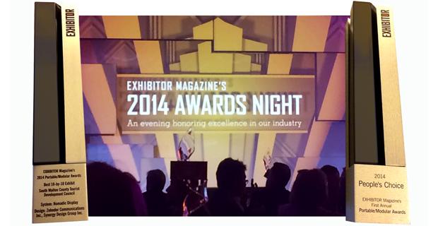 Exhibitor Magazine's 2014 PMA Award Winner