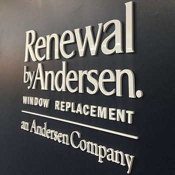 MAXHOME Renewal by Andersen sign