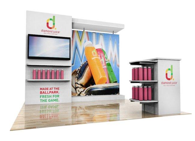 retail exhibit display 10x10