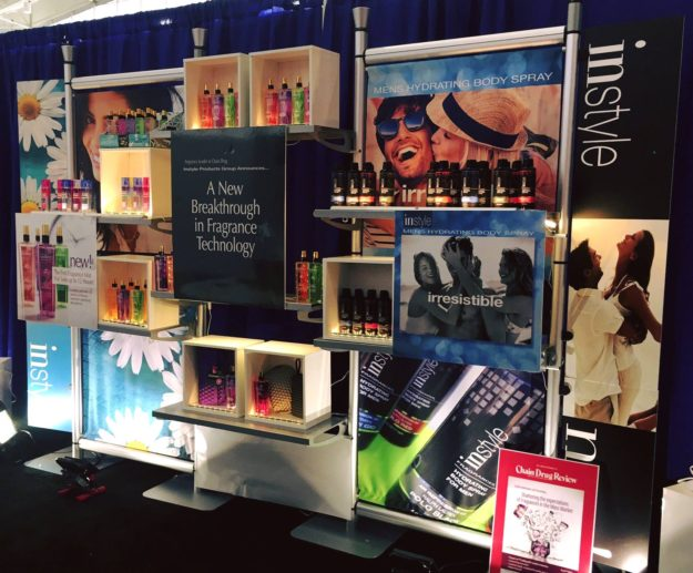 instyle retail display custom portable