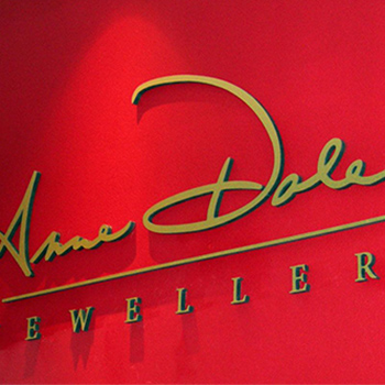 jeweller signage