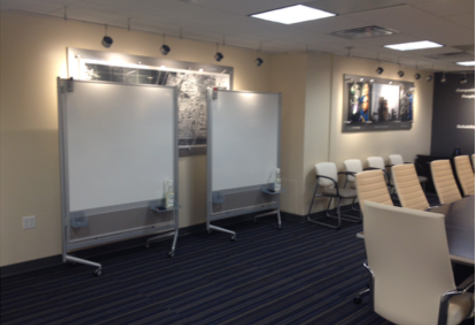 NORCO SHELL conference room design custom interior design