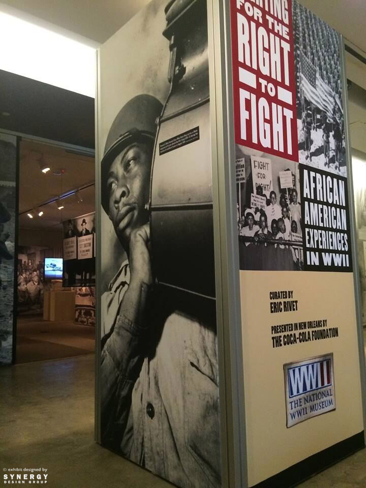 national world war ii museum fighting for the right to fight exhibition