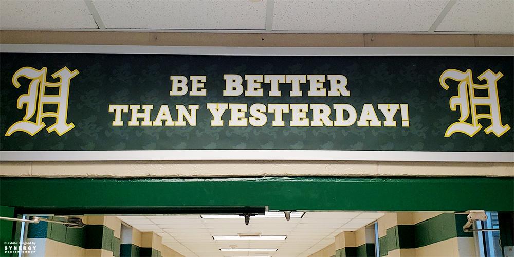 hurst banner signage
