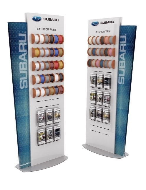 testrite product display promotional display synergy design group