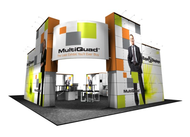trade show displays multiquad