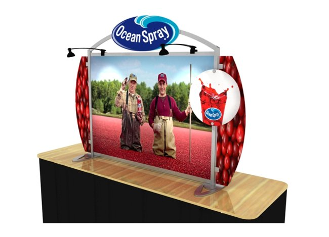 table trade show displays
