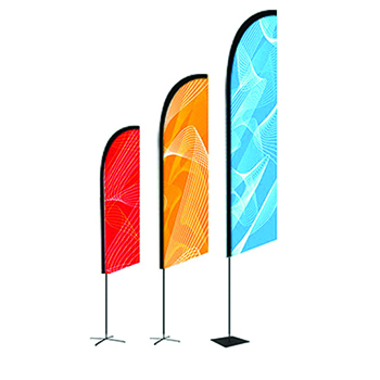 outdoor event display flags