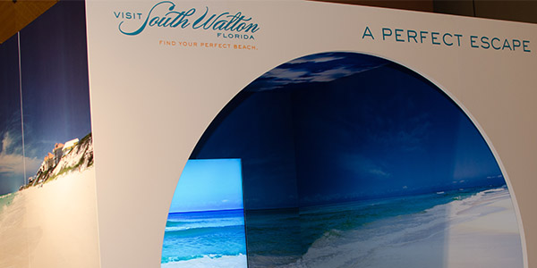 zehnder communications for visit south walton beach in a box multisensory exhibit design