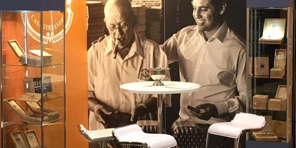 casa fernandez warped cigars 40x30 retail trade show display