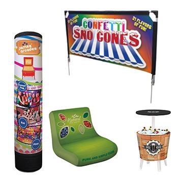 outdoor displays event accessories