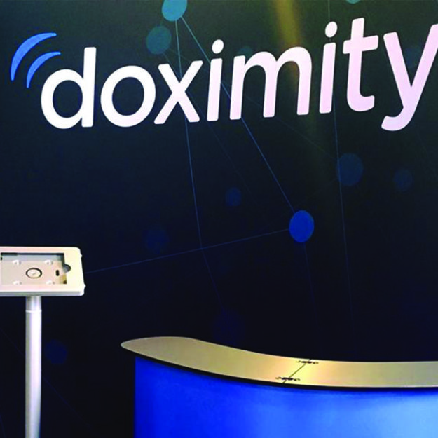 doximity 10-ft trade show display