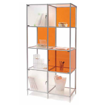 custom retail solution storage display accenta promotional display product booth design exhibit synergy design group
