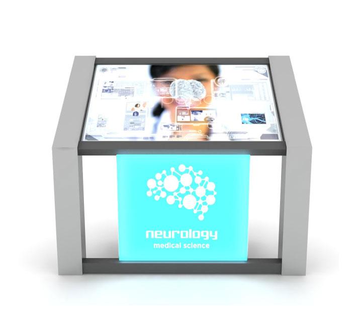 interactive kiosk presentation