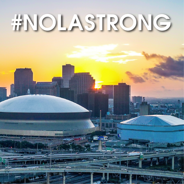 We are #NOLASTRONG through the recovery of Hurricane Ida