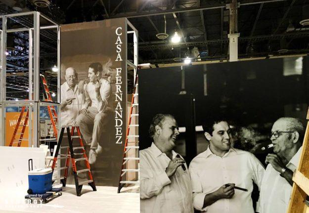 warped casa fernandez trade show booth