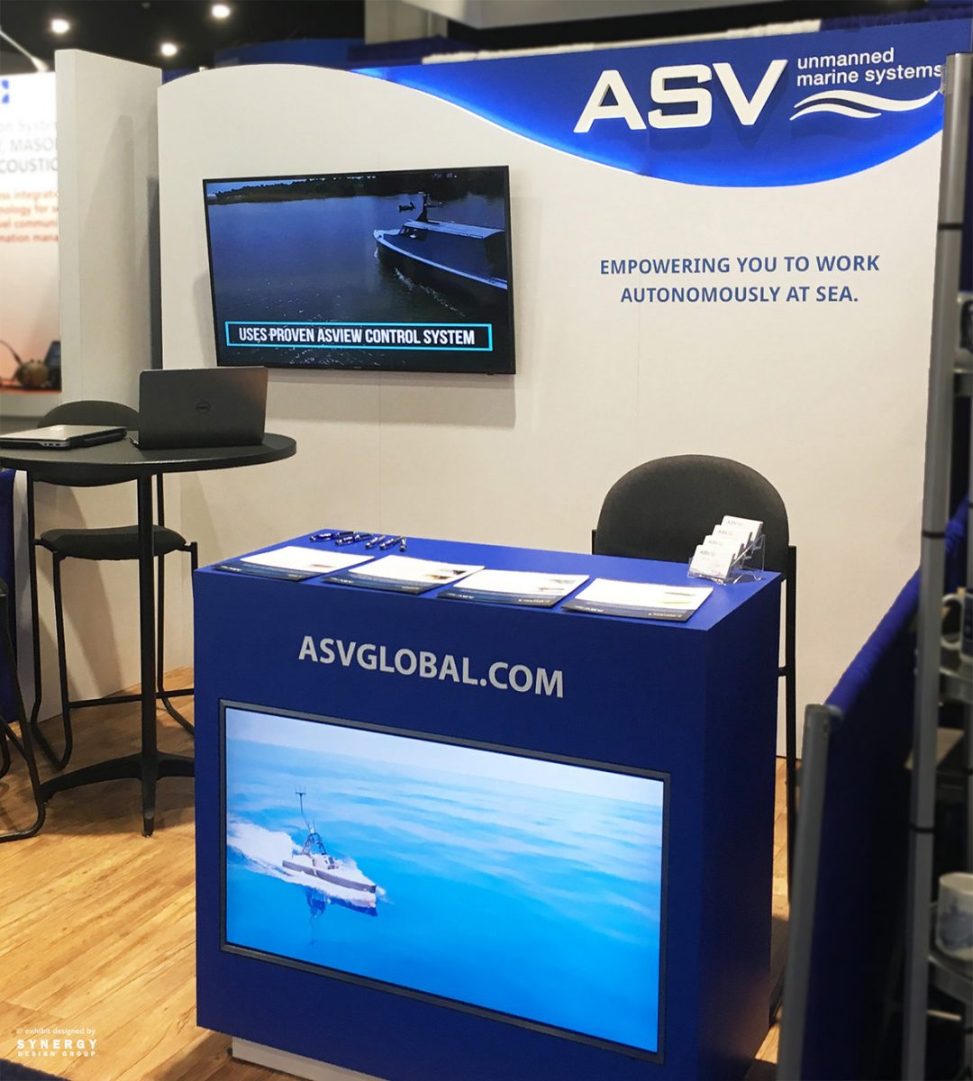 asv global custom 10x10 trade show exhibit