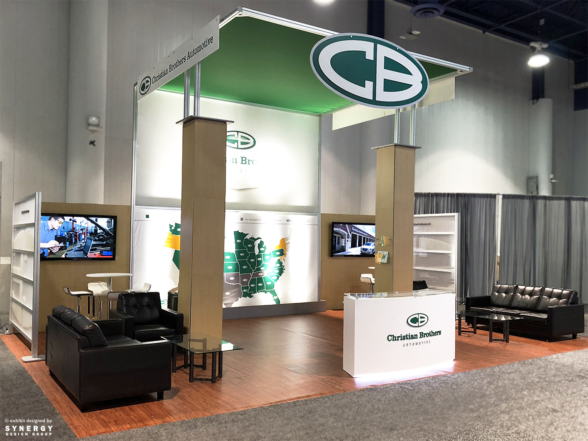 christian brothers automotive trade show display