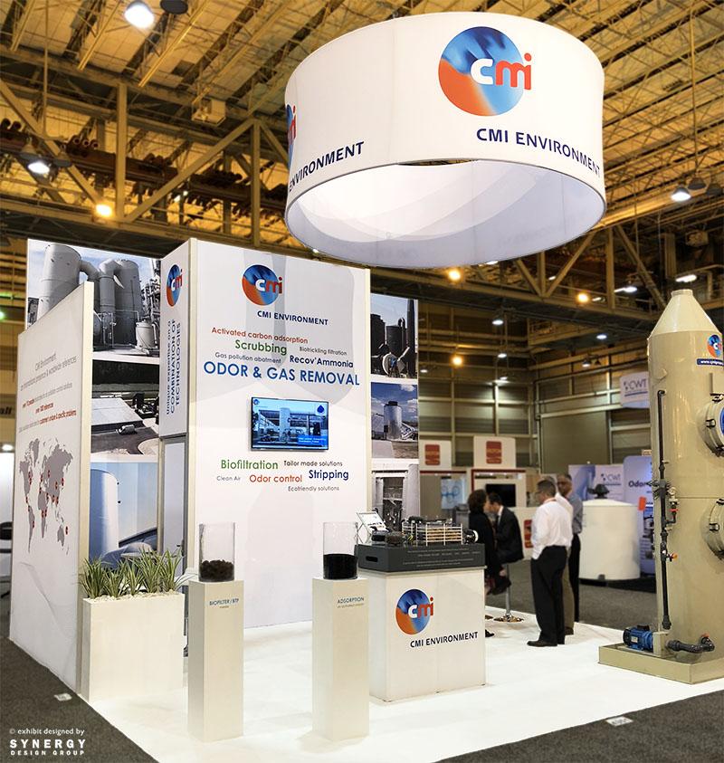 cmi environment 20x20 trade show booth