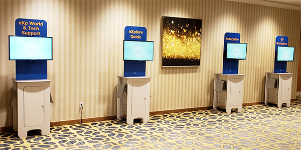ez events rental kiosks