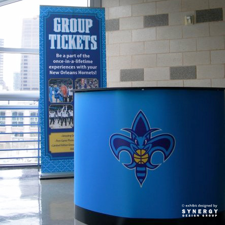 new orleans hornets event display