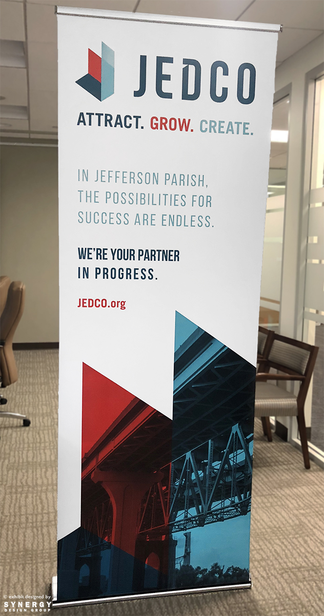 jedco banner stand