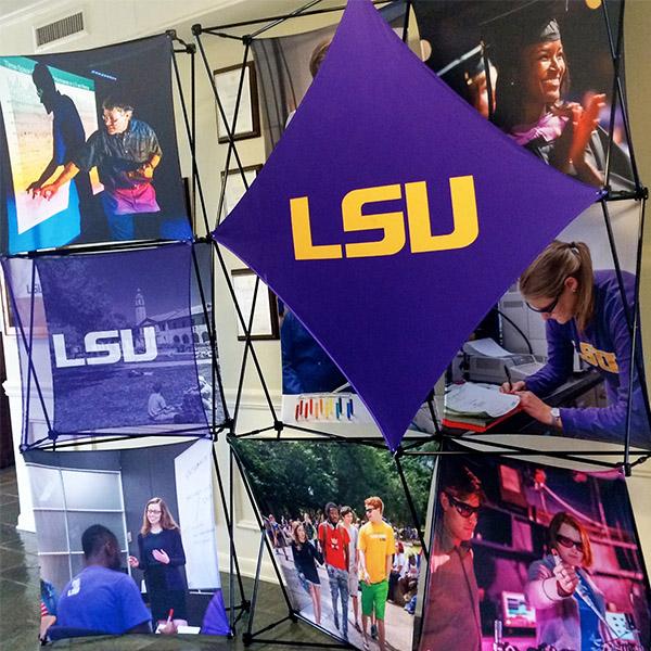 lsu pop up exhibit