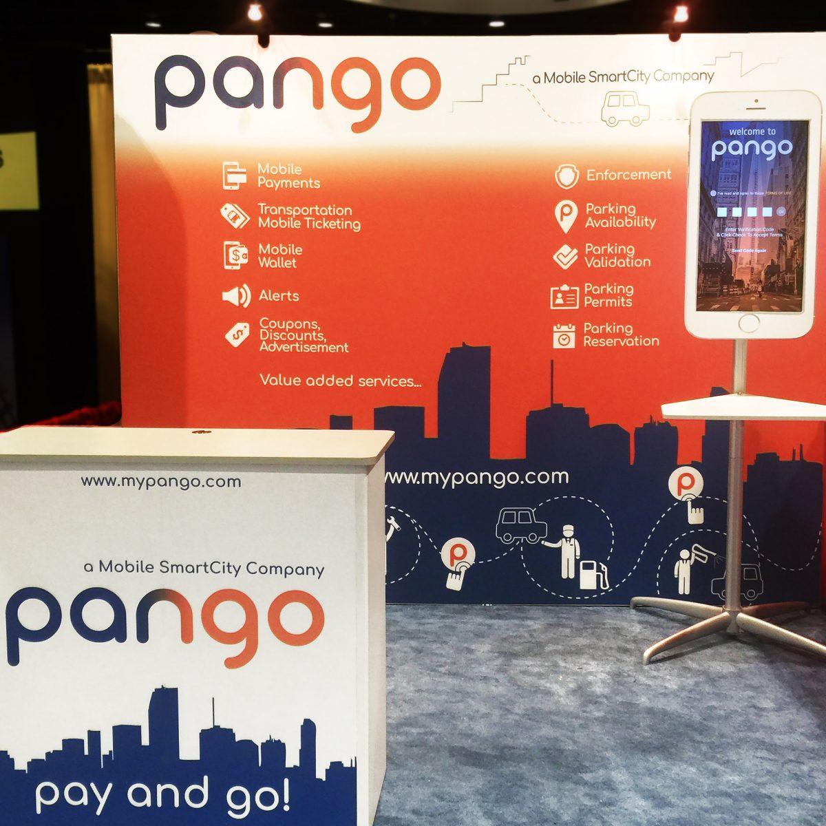 pango 10x10 trade show display