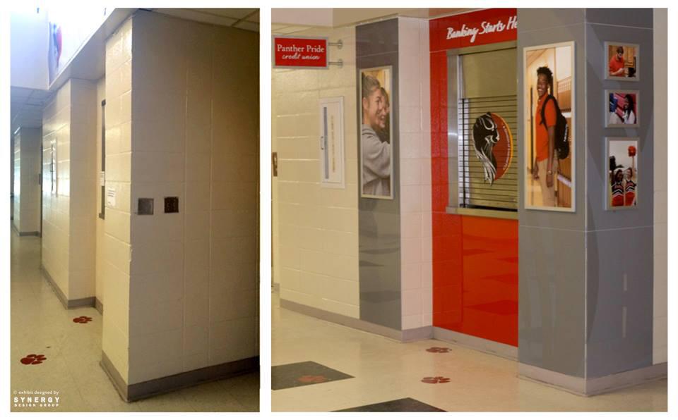 branded environment custom kiosk