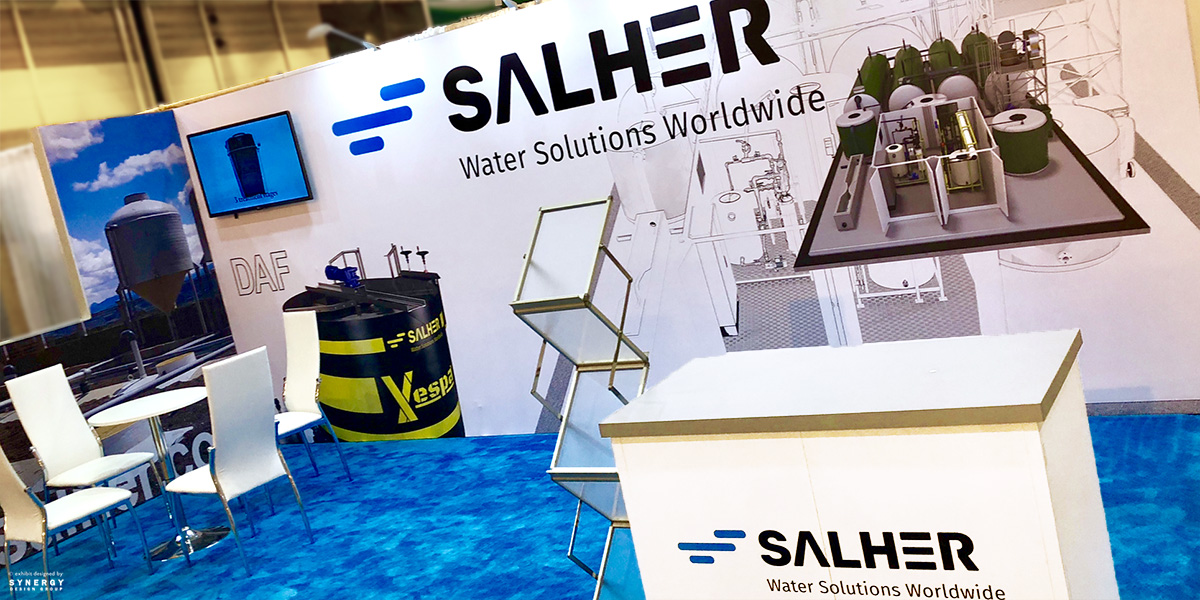 salher inline trade show booth seg back wall