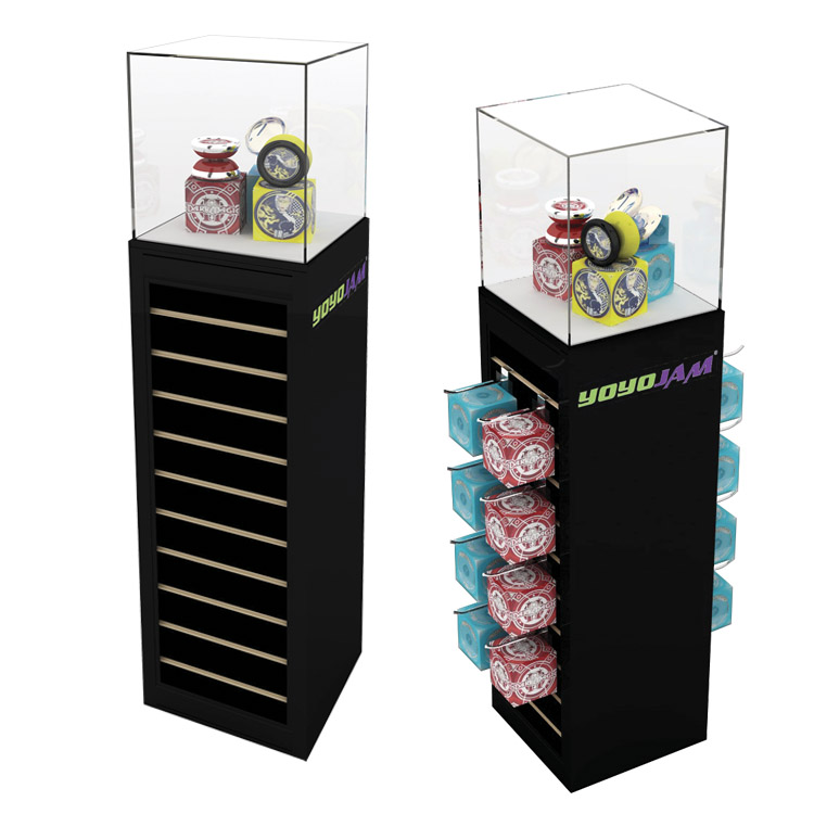 pedestal accenta retail solution display synergy design group