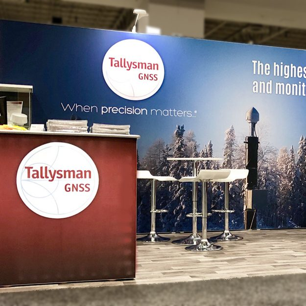 tallysman inline trade show display