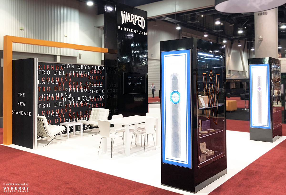 custom trade show display