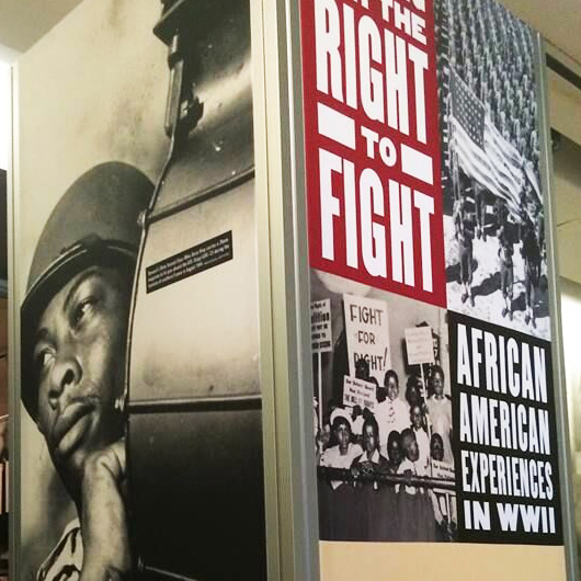 national world war II museum right to fight museum exhibition